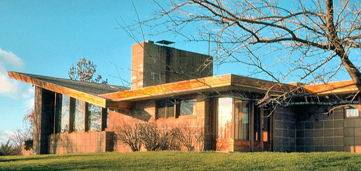 Zimmerman House - Frank Lloyd Wright