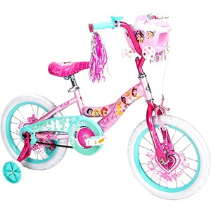 "Huffy Disney Princess 16"" Girls' Bike, Pink - @Vicki Spray, just thought you might want to see what it looks like! :)"
