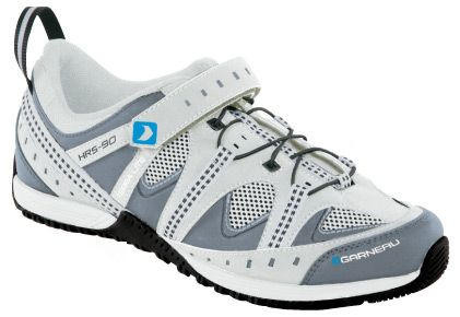 Louis Garneau Terra Lite Ladies Shoes features lightweight rubber outsole with recessed cleat and an easy fastening device with lace. It also boasts a velcro that makes this shoe ideal for around town ventures.