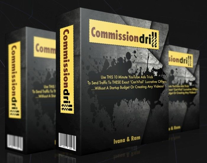 Commission Drill YouTube Ads Trick Video Training by Ivana Bosnjak