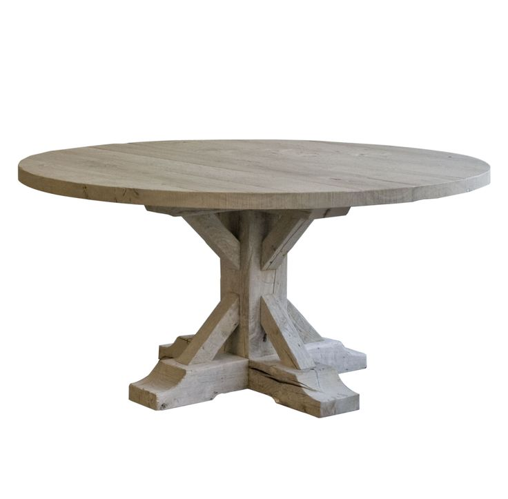 Hugo Round Dining Table - Round Farmhouse Table