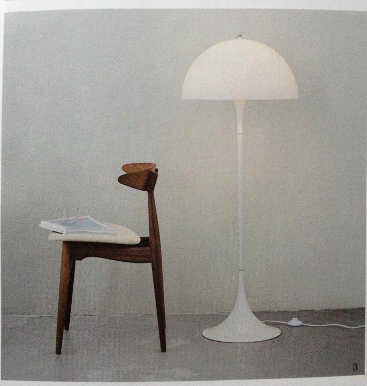 Panton Pantella lamp