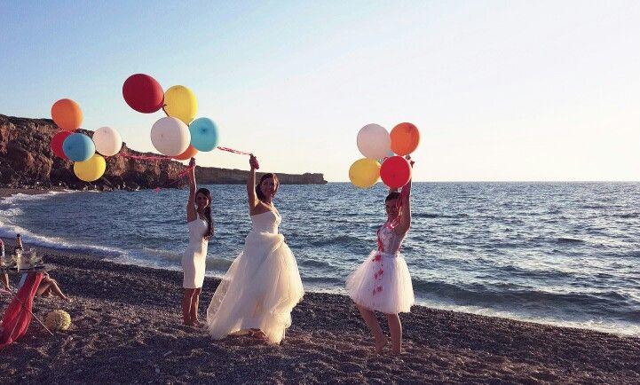 Triple wedding in Crete