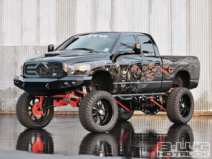 check out a tow pig gone wild thats a mashup a two wheel drive show truck that gets driven see this custom 2006 dodge ram 2500 with everything a show - Dodge Ram 2500 44 2014