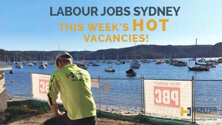 Labour Jobs Sydney - Hunter Labour Hire Jobs Available