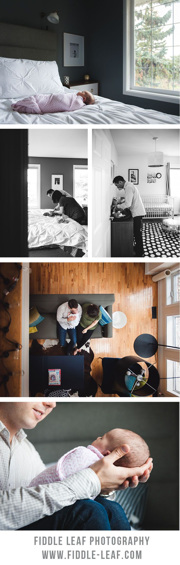 Beautiful in-home newborn photo session by Fiddle Leaf Photography. Edmonton Newborn Photographer. http://www.fiddle-leaf.com/newborn-sessions/