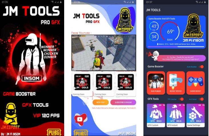 Download App Config Pubg Mobile Terbaik Jm Tools Versi Terbaru Di 2020 Aplikasi Game Android