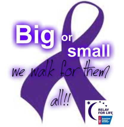 Big or small we walk for them all
