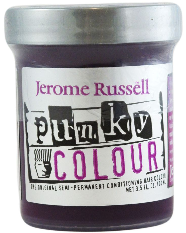 jerome russell punky colour semi permanent hair dye purple the basics yes about - Meilleure Coloration Semi Permanente