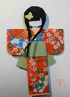 Tutorials for origami dolls for Girls' Day