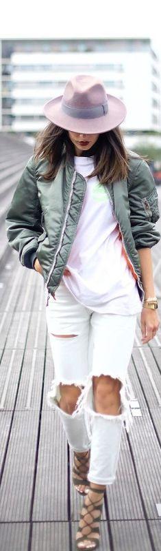 White And Khaki / Fashion By Alex's Closet