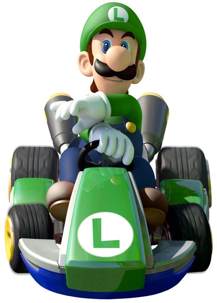 Luigi - Mario Kart 8