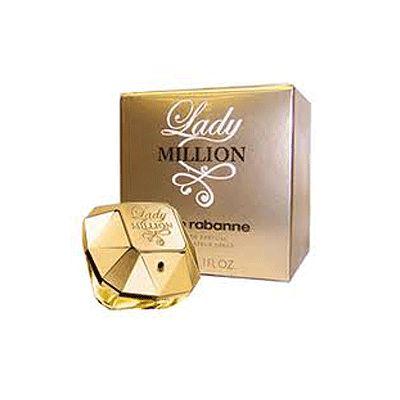 Lady Million van Paco Rabanne voor dames. Lady Million Eau de parfum 50 ml.