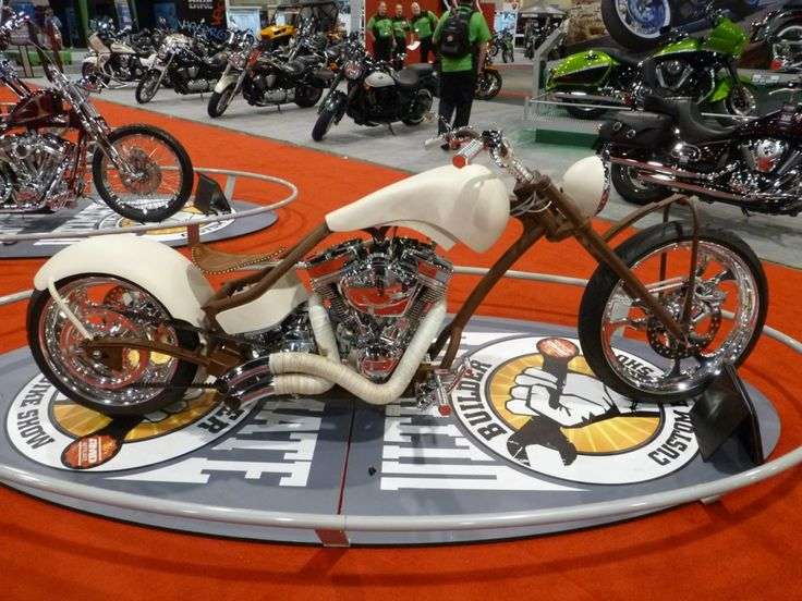 Ultimate Builder Custom Bike International Motorcycle Show 2012