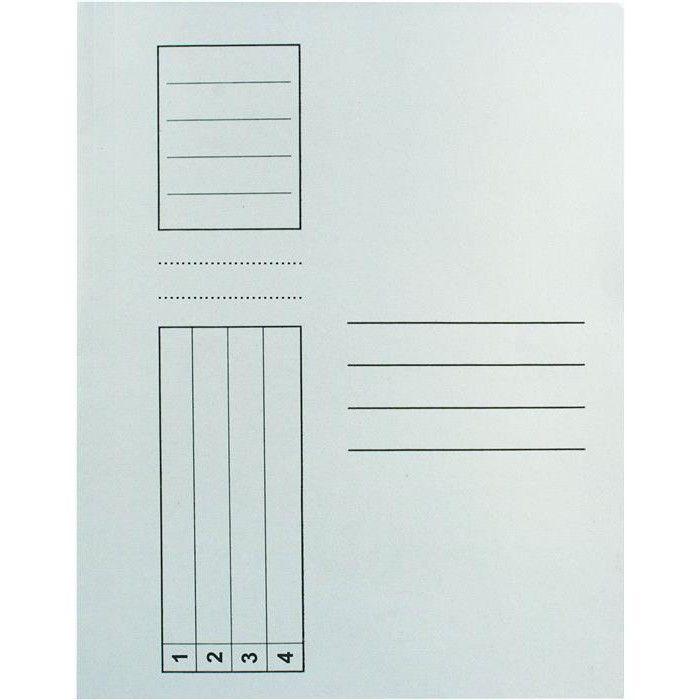 Dosar din carton cu sina, 230g/mp - Dosare din carton - Organizare si arhivare - Birotica