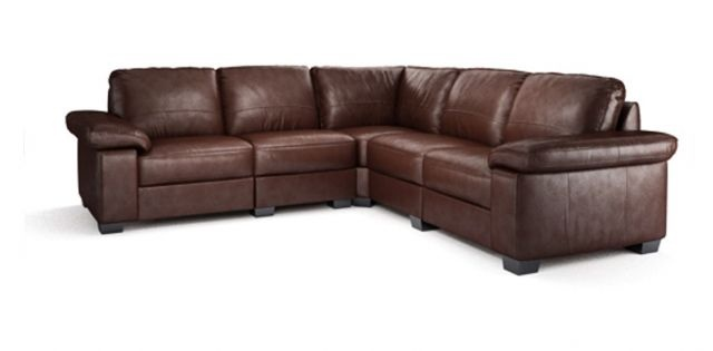 Linea Leather Corner Sofa | dfs | making everyday more comfortable