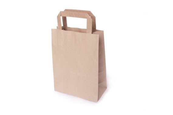 eco paper bag, brown kraft paper bag with handles, small shopping bag, gift packaging, shop, DIY, wrap, birthday, party favors, wedding