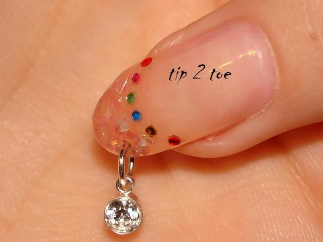 Like the nail piercing