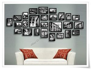 idea for displaying travel photos - various sizes