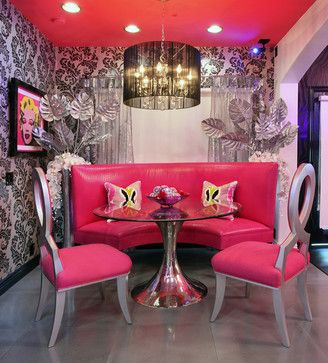 17 best ideas about hot pink furniture on pinterest for Black and pink furniture