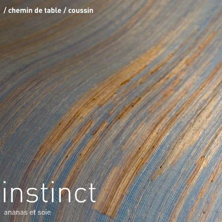 instinct chemin de table coussin ananas et soie elodie brunet - Chemin De Table Color