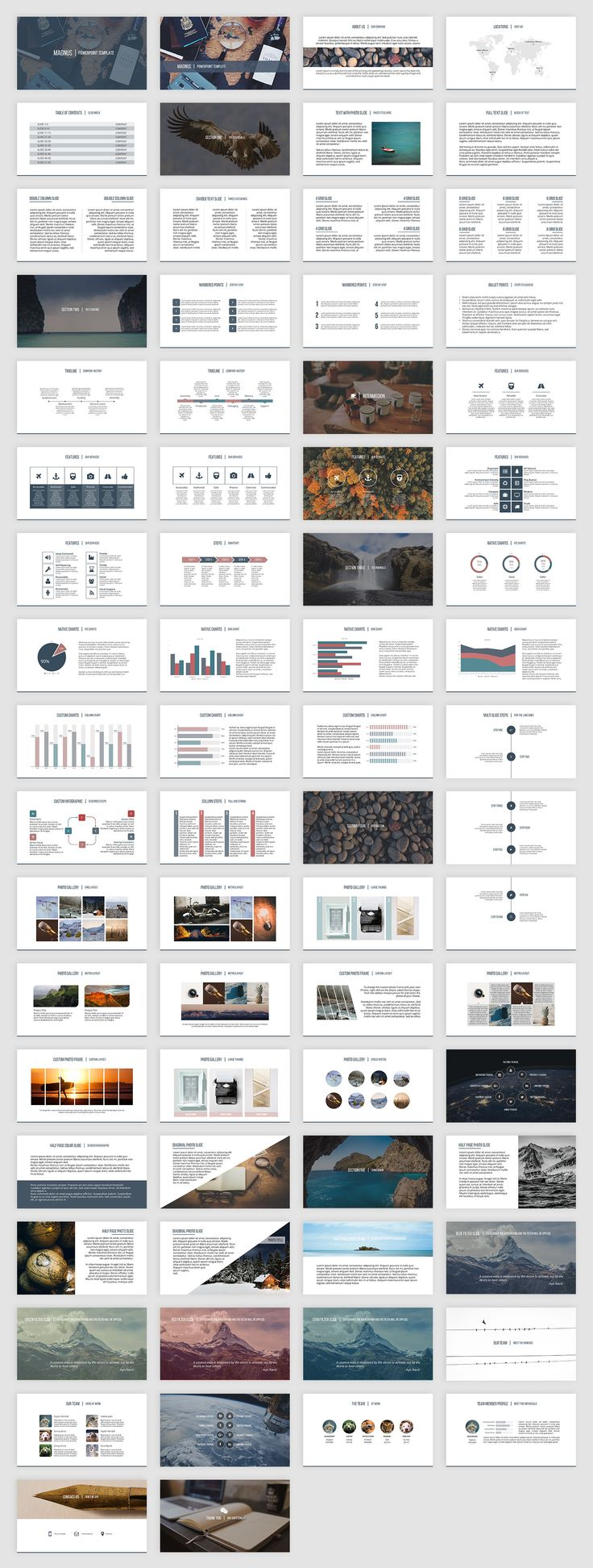 54 best best presentation templates images on pinterest magnus is a clean business presentation template for powerpoint alramifo Choice Image