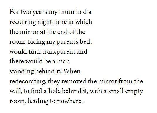 short essay ghost story