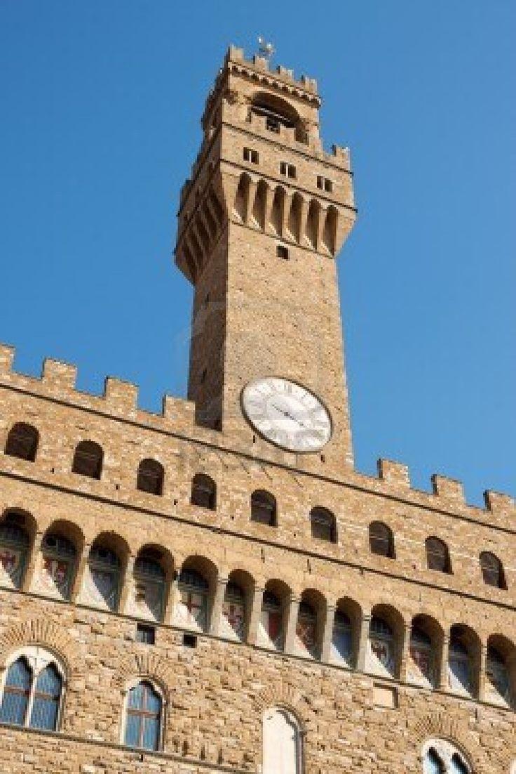 Palazzo Vecchio nel Firenze, Toscana