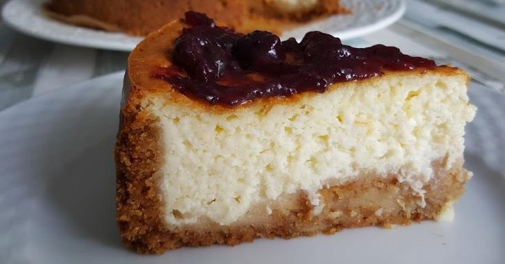 Si las tartas de queso de por sí están buenas, esta que es cremosa, debe ser espectacular. Una delicia del blog RECETAS Y A COCINAR SE HA DICHO!.