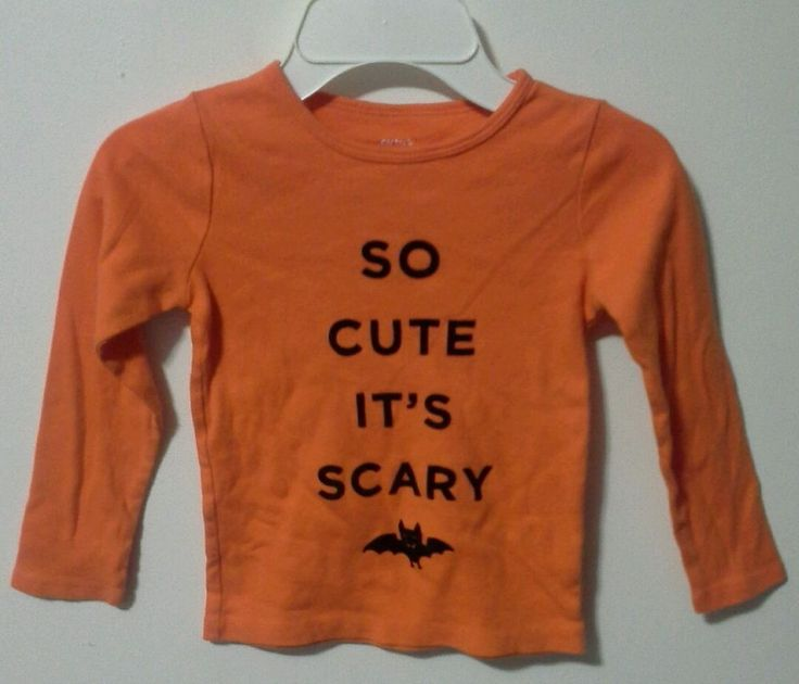 Carter's Size 5T Shirt, Halloween Costume, Kids, Toddler, Big Girl, Boy #Carters…
