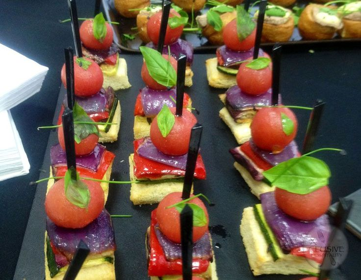 Xclusive Style Ratatouille Canape #catering #events #leicestershirefood #xclusive