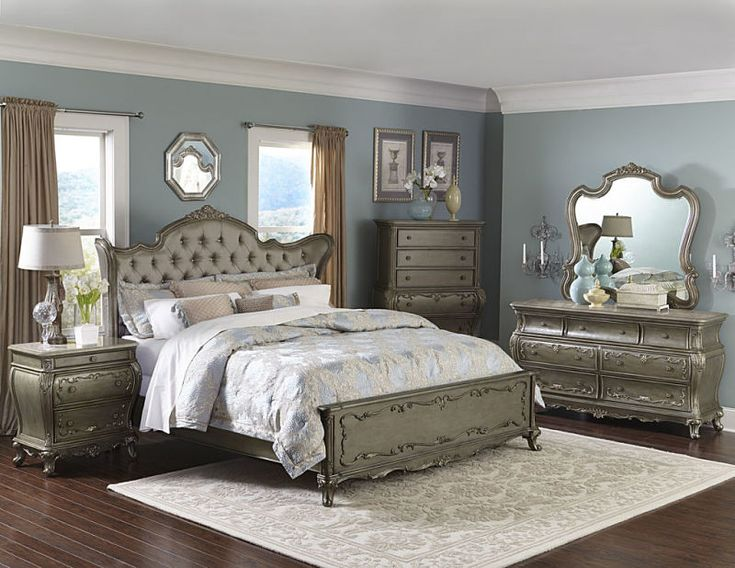 Florentina Bedroom Set. 17 Best images about Elegant Gold Furniture Sets on Pinterest