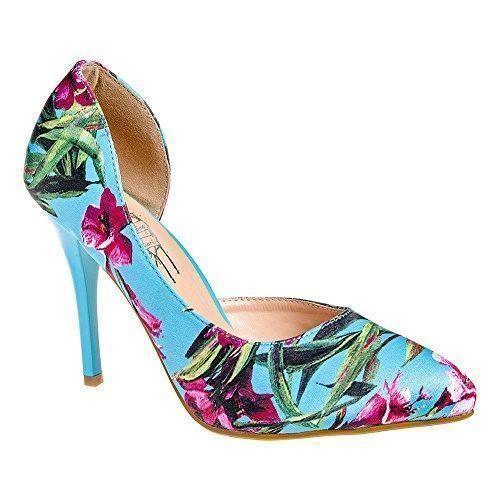 Zapatos Tacon Morados Baratos