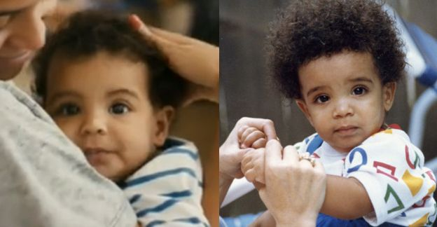 Blue Ivy Looks LikeDrake As A Baby