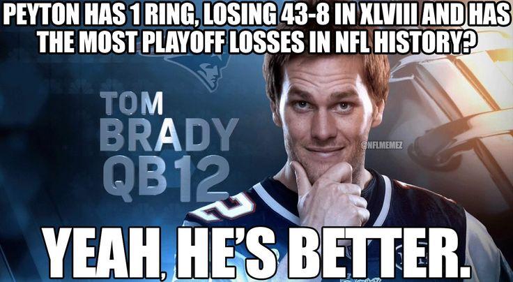 Tom Brady vs. Peyton Manning!
