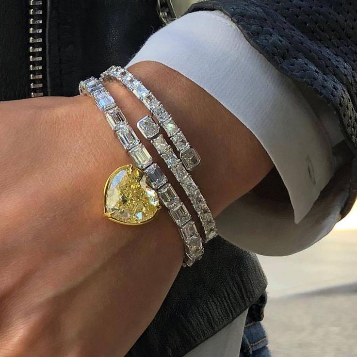 16 Februar 2018 Um 13 19 Uhr Von Highjewellerydream Diamant Armband Armband Armband Damen