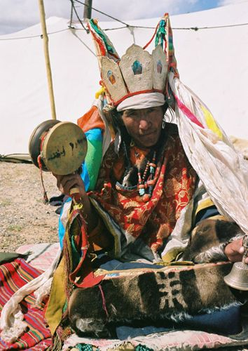 Shaman, Tibet