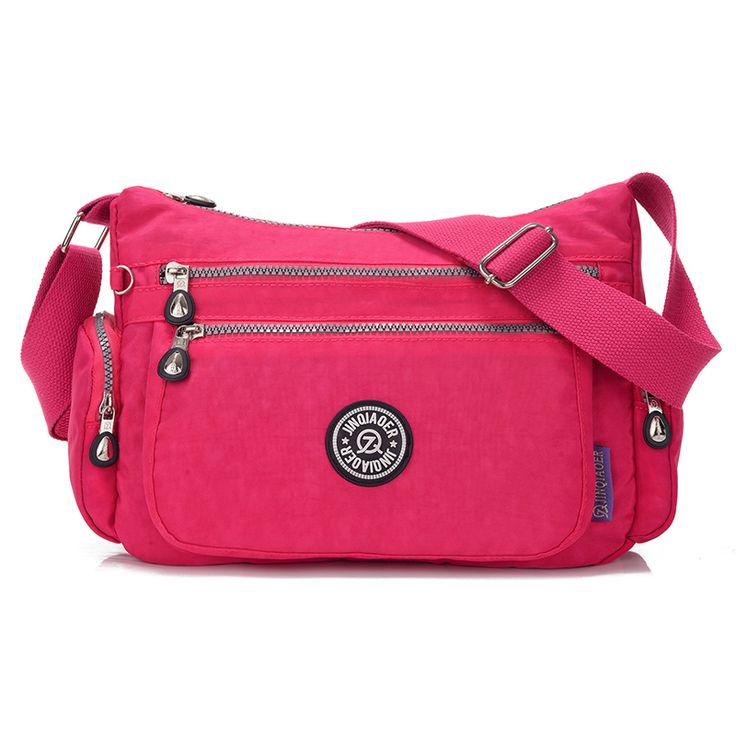 ホット販売ハンドバッグ女性メッセンジャーバッグ女性のためのバッグ防水ナイロン女性ショルダークロスボディバッグsacメインボルサfeminina