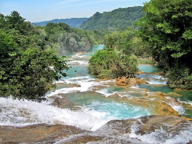 Aguas Azul/Chiapas Mexico