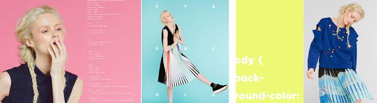 Confashion - kolorowa kolekcja Cyberfolk