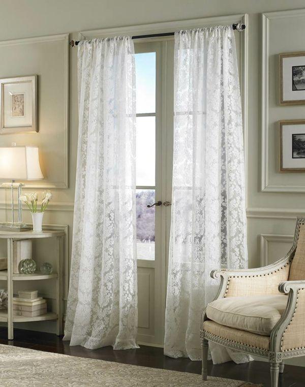 1000 ideen zu gardinen dekorationsvorschl ge auf. Black Bedroom Furniture Sets. Home Design Ideas
