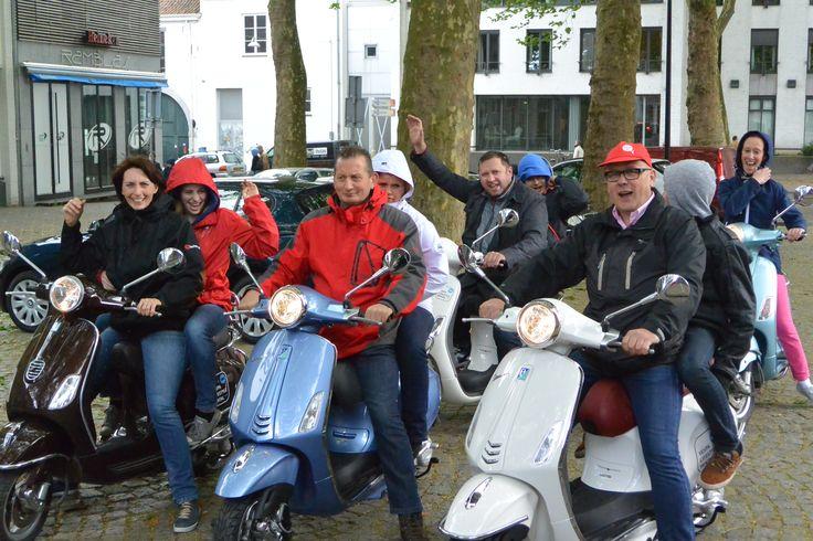 Scootertocht Heuvelland Teambuilding - Groepsactiviteit