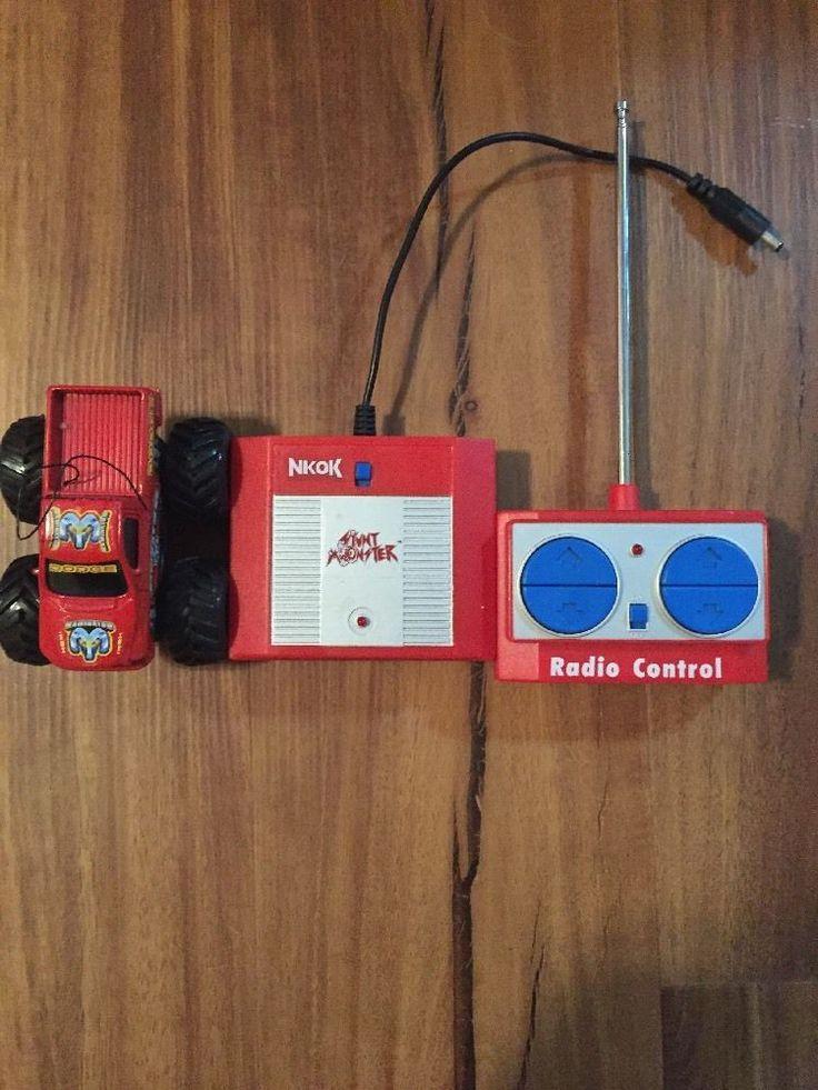 Nkok Stunt Monster RC radio control monster truck! Vintage super cool    eBay