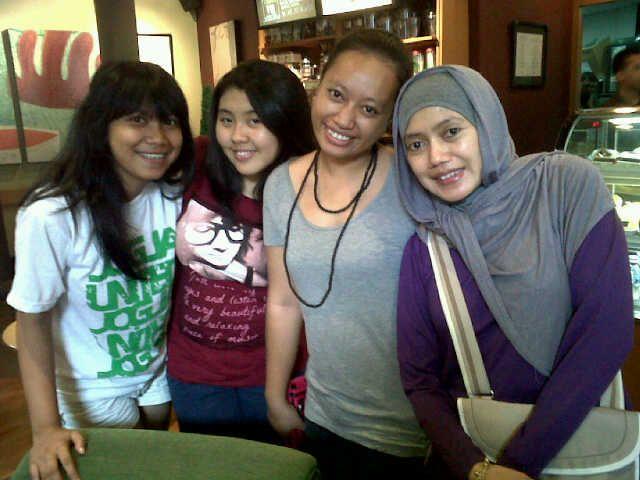 at Sbux Km 19. On my way to Bandung, 2011.