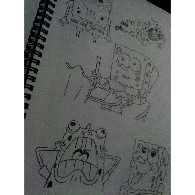 haha Sponge Bob ;) #art