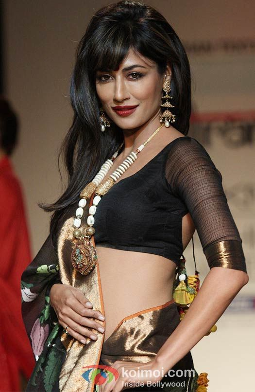 Chitrangada Singh in a gorgeous black saree