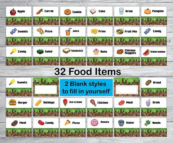 how to get food in minecraft