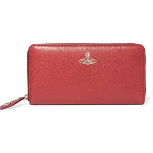 Vivienne Westwood Anglomania Balmoral textured-leather wallet
