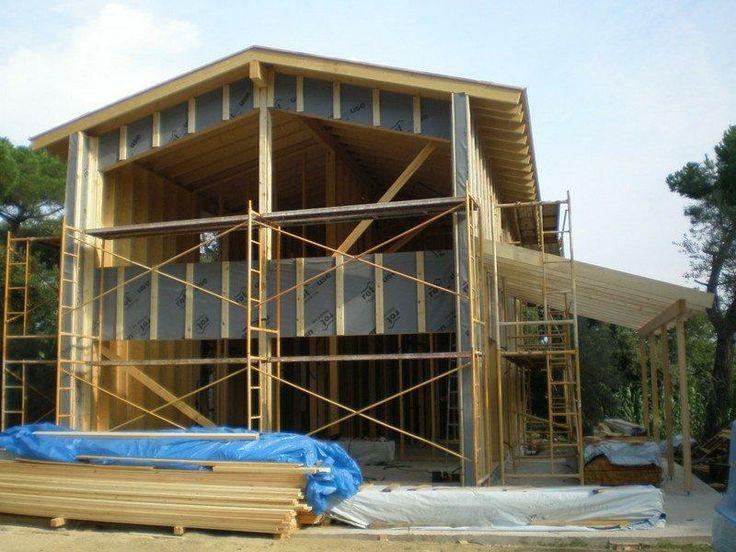 Eco-Houses Construccions   Casa Sant Celoni   Casa Ecologica Madera Bajo Consumo Energetico