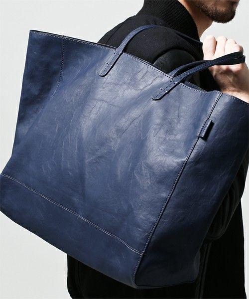 nano・universe Mens(ナノユニバースメンズ)のAKM/ plain tote bag(トートバッグ) ブルー
